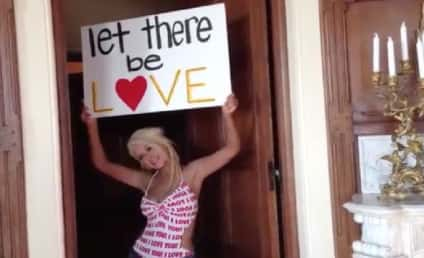 Christina Aguilera Letter to Fans: Let There Be Love!