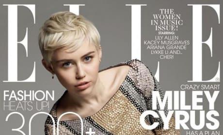 Miley Cyrus on Elle