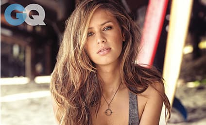 Dylan Penn Smolders in GQ, Poses Topless
