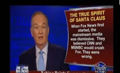 Bill O'Reilly Defends Megyn Kelly, Expresses Indifference Over Santa's Whiteness