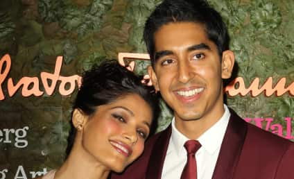 Freida Pinto and Dev Patel: It's All Over!