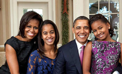 New Obama Family Portrait: Released!