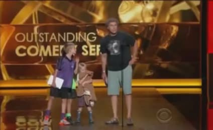 Will Ferrell, Children Present Top Two Emmy Awards