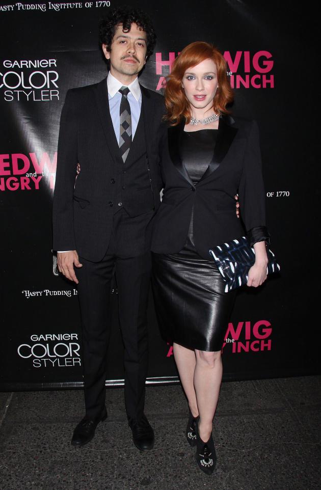Geoffrey Arend and Christina Hendricks Photo