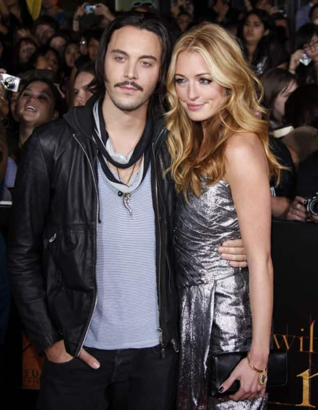 Jack Huston and Cat Deeley