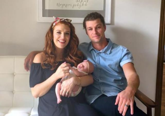Audrey, Ember and Jeremy Roloff