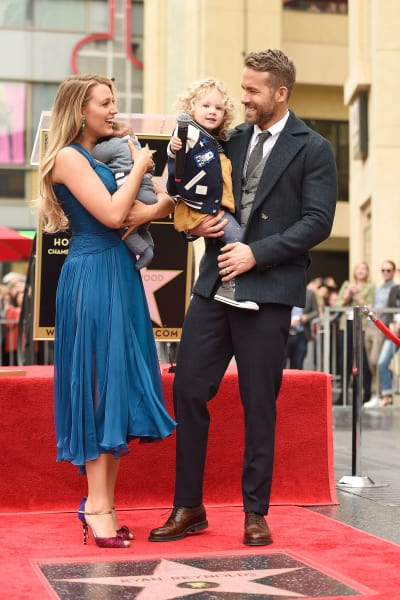 Blake Lively and Ryan Reynolds, Kids