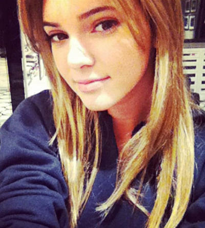 Kendall Jenner as a Blonde