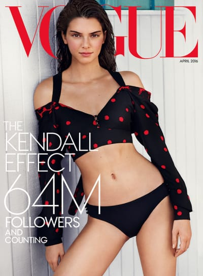 Kendall Jenner Vogue Cover Photo