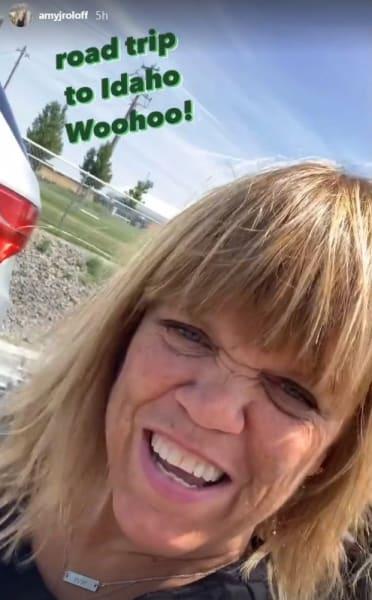 Amy Roloff IG Pre-Wedding Trip to Idaho