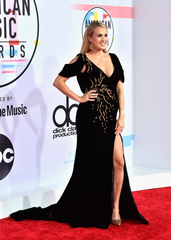 Carrie Underwood at 2018 AMAs