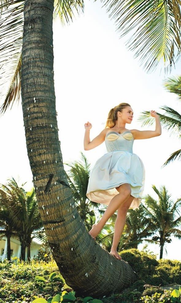Hayden in Glamour