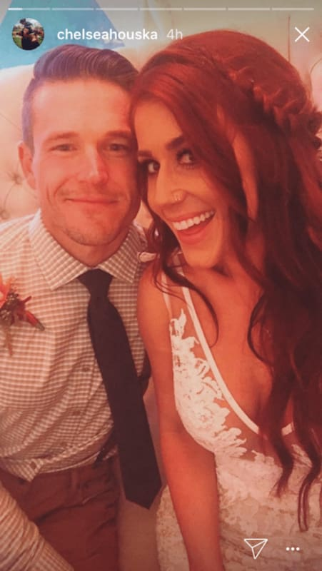 Chelsea houska see all the photos from her second wedding for Chelsea houska second wedding dress
