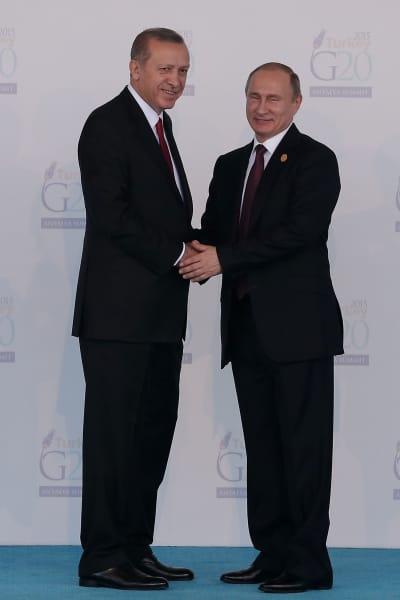 Erdogan-Putin Photo