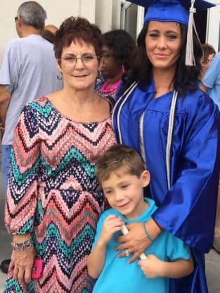 Jenelle Evans Graduates!!
