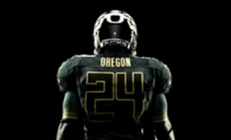 Oregon Football Uniform