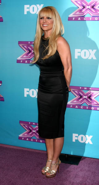 Britney X Factor Pic