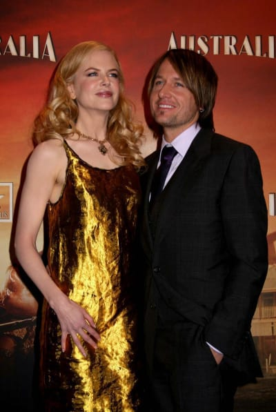 Nicole Kidman and Keith Urban Celebrate