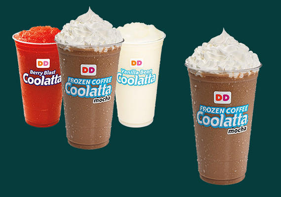 Frozen Coffee Coolatta from Dunkin' Donuts