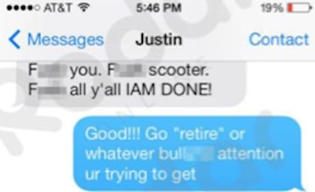 Justin Bieber-Selena Gomez Text #5