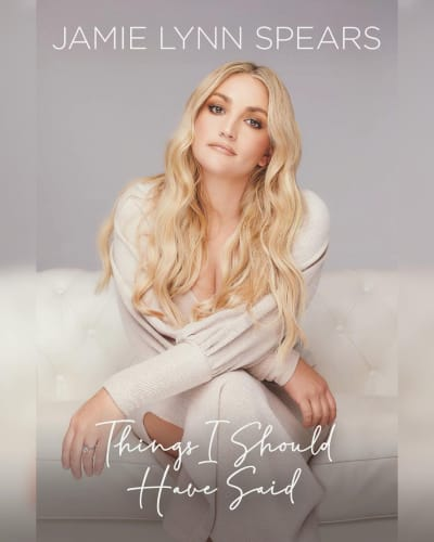 """Jamie Lynn Spears """"Things I Should Have Said"""" Book Title"""