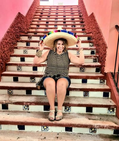 Meri Brown in Mexico