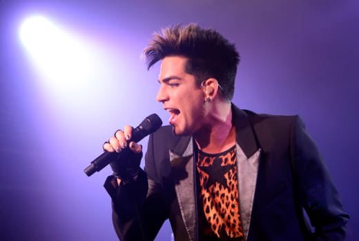 Adam Lambert Concert Photo