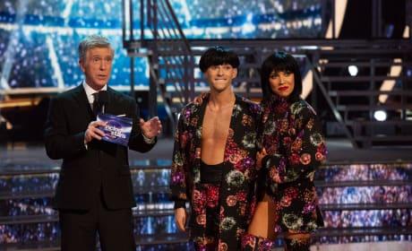 Adam Rippon, Jenna Johnson on Dancing with the Stars