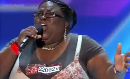 Panda Ross Brings X Factor Audition on Home