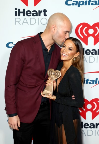 Jana Kramer and Mike Caussin in 2019