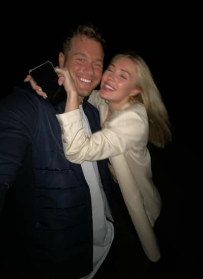 Colton Underwood and Cassie Randolph in Happier Times