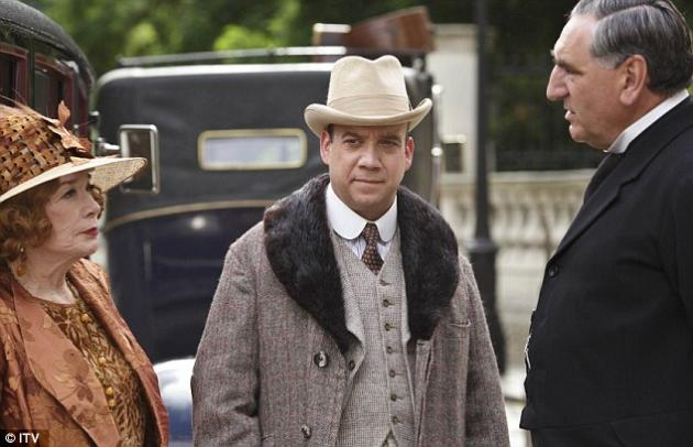 Paul Giamatti on Downton Abbey