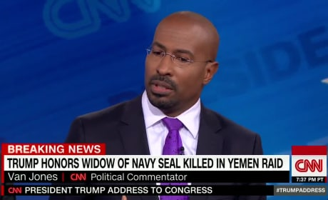 Van Jones Praises Trump Speech, Twitter Explodes at CNN Pundit