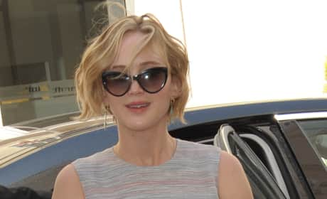 Jennifer Lawrence in France