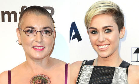 Sinead O'Connor Slams Miley Cyrus