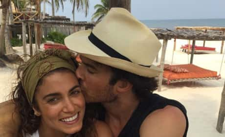 Ian Somerhalder and Nikki Reed in Mexico