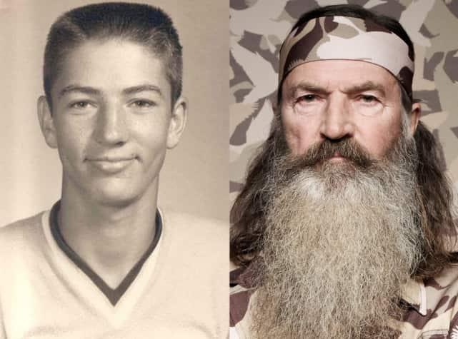 Phil Robertson: No Beard!