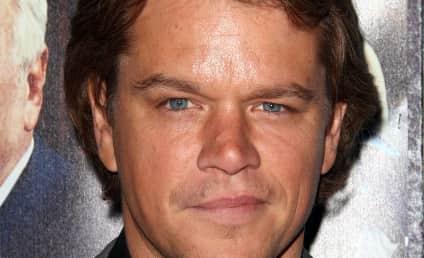 Matt Damon to President Obama: Grow a Pair!