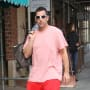Adam Sandler on the Street