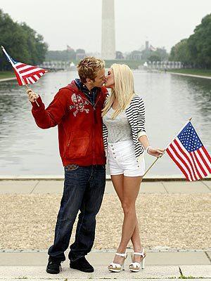 Spencer and Heidi Celebrate July 4