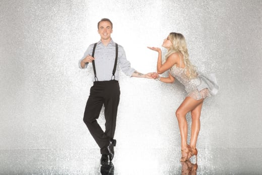 Frankie Muniz and Witney Carson