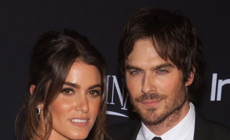 Ian Somerhalder and Nikki Reed Pic