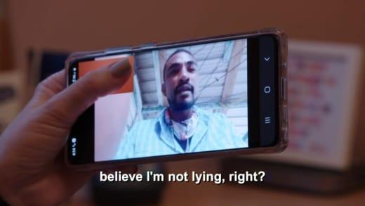Harris to Stephanie Davison - believe I'm not lying, right?