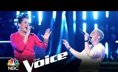 Emily B. vs. Kristen Merlin: 'I Can Love You Better' (The Voice Battle Round)