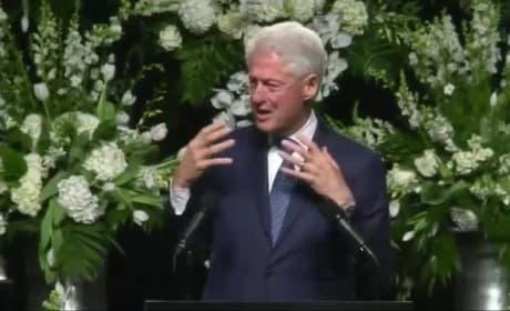 Bill Clinton Eulogizes Muhammad Ali