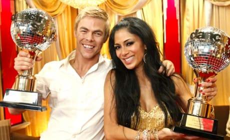 Nicole Scherzinger and Derek Hough Win Dancing With the Stars