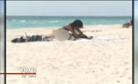 Florida Couple Has Sex on the Beach