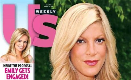 Tori Spelling Covers Us Weekly