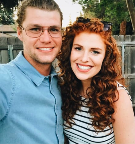 Audrey and Jeremy Roloff Selfie