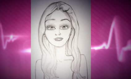 Amanda Bynes Self-Portrait: Sketchy (in a Good Way)!
